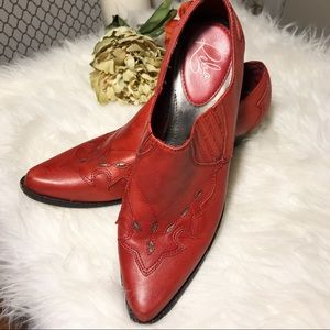 Reba Lane | Leather Ankle Booties